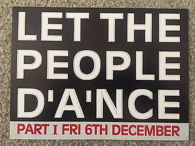 Mastermind Let The People Dance Part 1 London 1991 Rave Flyers Flyer