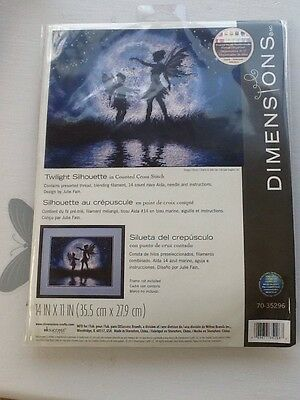 Dimensions D70-35296 | Twilight Silhouette Counted Cross Stitch Kit | 35 x 27cm