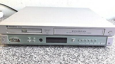 FIRSTLINE FDC500. DVD Player + VHS VIDEO 6 Têtes   Player Combi Magnetoscope