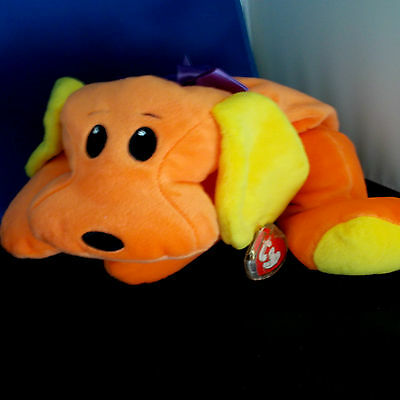 """WOOF ***TY PILLOW PAL*** Style 3114 approx 12"""""""