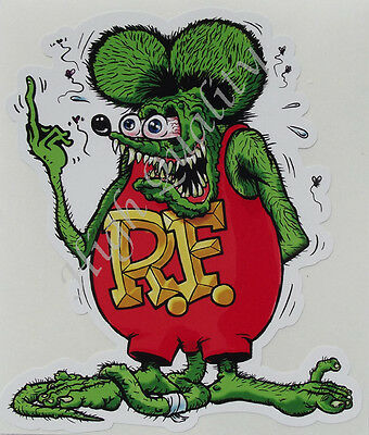 Rat Fink Decal Sticker.   Z019