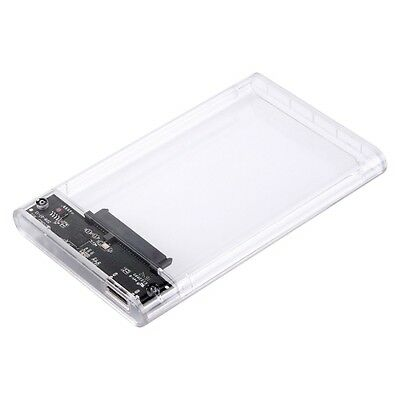 Pc0599_Sun Orico 2139U3-Cr Usb3.0 Transparent External Hard Disk Box Storage Cas