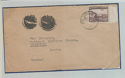 South West Africa,  Flight Cover 1948 To England