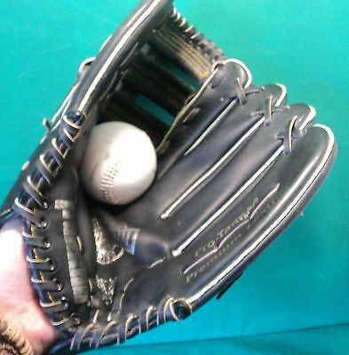 Genuine Franklin Mens Adult Large Baseball Glove Mitt & Free Ball R/H Thrower