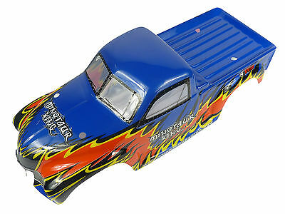 Smartech 1/8 Scale Buggy/Truck Body Shell - Blue