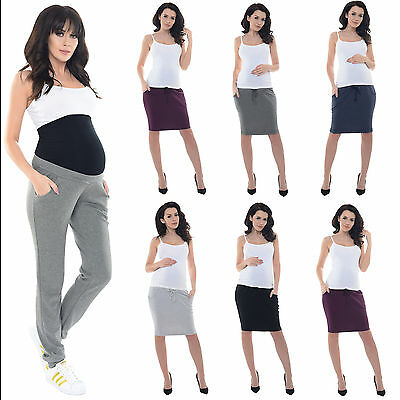 Purpless Maternity Elasticated Belly Band Pregnancy Trousers Skirts 1321/1500