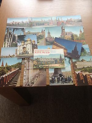 RUSSIA 1965:- Set Of Sixteen Unused Postcards Of Moscow.