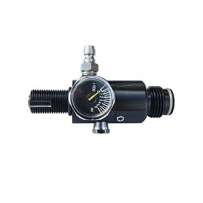 ALEKO Paintball 3000 Psi HPA Tank Regulator Output With 1.8k And 5k Burst Disk
