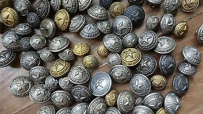 Over 100 Various Vintage French Military  Militares buttons Bouton