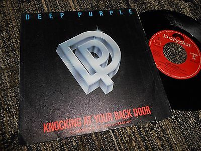 """Deep Purple Wasted Sunsets/knocking At Your Back Door Single 7"""" 1985 Spain"""