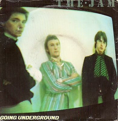 "The Jam - Going Underground/Dreams Of Children + Bonus Disc (7"" 1980)"