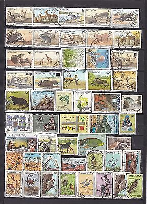 BOTSWANA Stamp Collection from 1987