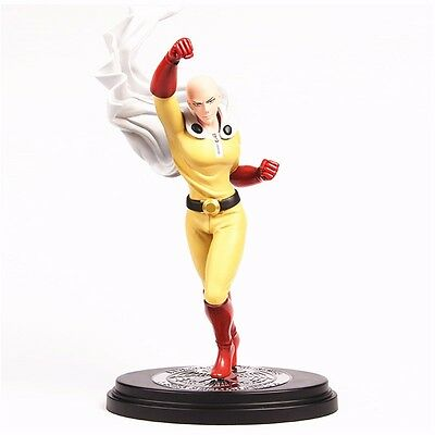 "Anime One Punch Man Saitama Hero Association 11"" PVC Figure New In Box"