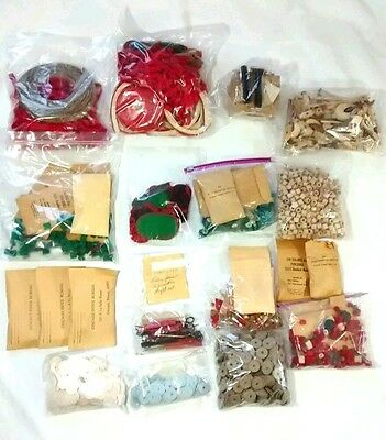 Vintage Piano Repair Parts Lot Felt Punchings Hammers Keys
