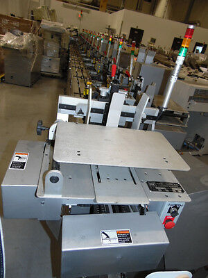 Kirk-Rudy mail inserter model 521. 4 pieces total .....2 systems still wrapped..