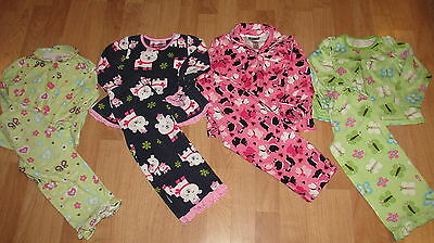 Girls Pajama Sets Size 3 / 4 Four Total !!