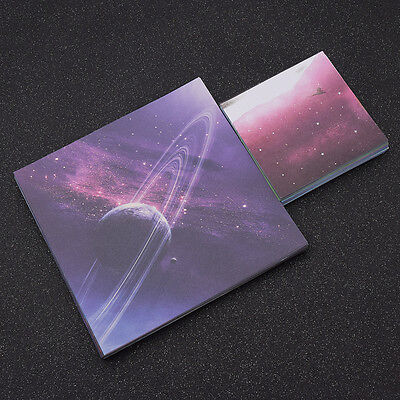 15x15cm Single Side Colored Paper Origami Folding Craft Paper Star Moon Universe