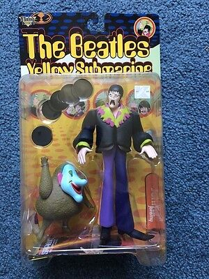 The Beatles Yellow Submarine   John with Blue Meanie  NEW 1999 McFarlane Toys