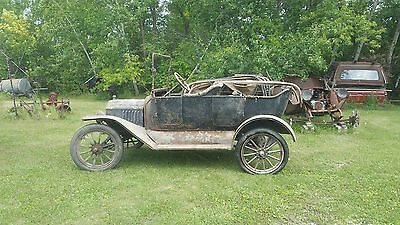 1915 Ford Model T  1915 Ford Model T Touring Matching Number Car True Survivor Car (mfg in 1914)