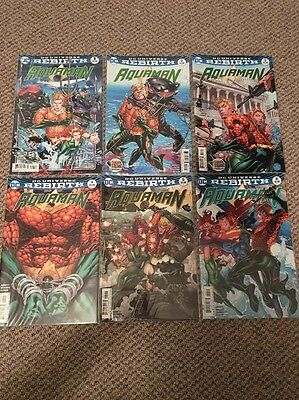 Aquaman #1,2,3,4,5,6 DC Rebirth