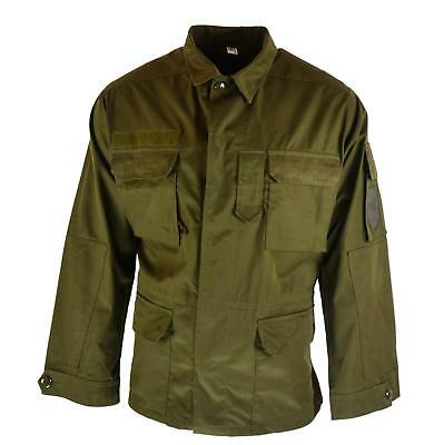 Original Austrian BH army combat shirt jacket M65 military olive drab NEW