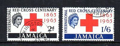 Jamaica 1963 Red Cross SG203-204 VFU