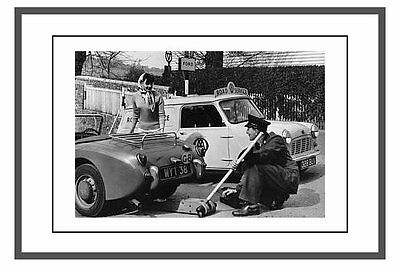 PHOTO  TAKEN FROM A 1960's A,A, PROMOTIONAL PHOTO SHOWING NEW  MINI PATROL VAN
