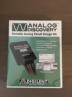 Digilent - Analog Discovery Portable Circuit Design Kit