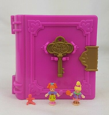 Vintage  Polly Pocket  Sweet Treat Shoppe 100% Complete Book 1996  Excellent