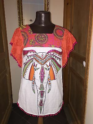 Superbe blouse DESIGUAL taille 13-14 ans