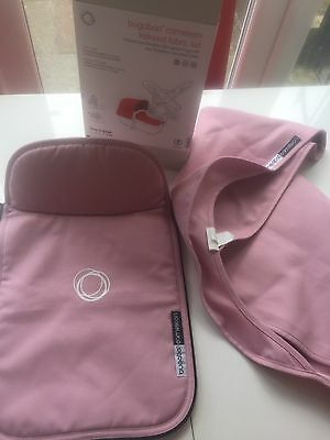 Bugaboo Cameleon 1,2,3 tailored fabric set Soft Pink  FREE POST