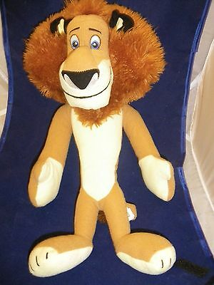 "Alex the lion 15"" Madagascar 3 stuffed plush disney dreamworks toy factory"