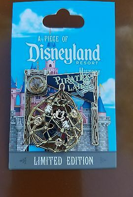 a piece of Disneyland history pin Pirate's Lair with Mickey pin