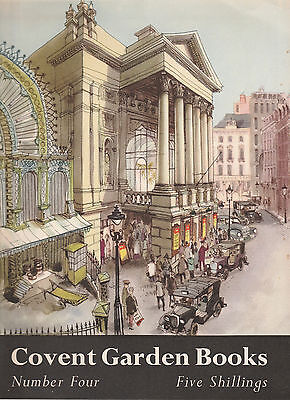 Covent Garden Opera Book Number 4 - January 1947 - 1St July 1950 - Rare Copy