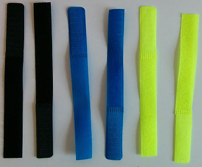 10 pack Cable Ties - Reusable and durable - Velcro - 180mm