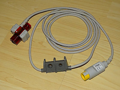 Dräger CO2 Capnostat Cable with Airway Adapter Neonatal 4322975