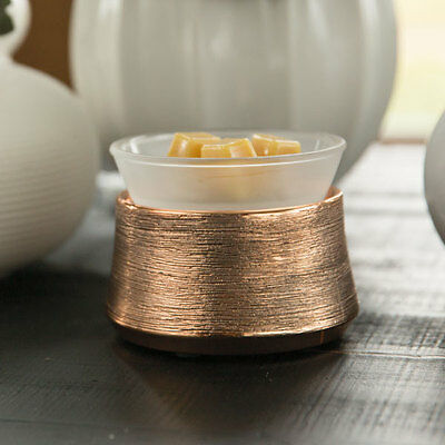 Etched Copper Scentsy Warmer with FREE WAX BAR