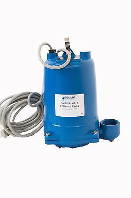 WE2034H Goulds 2 HP 460 Volts Submersible Effluent Pump Three Phase