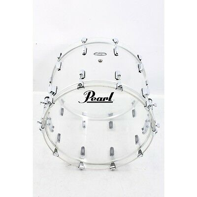 Pearl Crystal Beat Bass Drum 22 in., Ultra Clear 888365524245