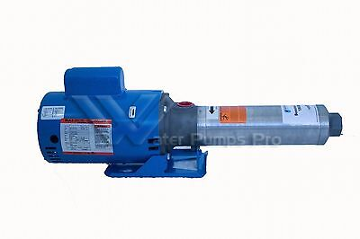 25GBS15 Goulds High Pressure Multi-Stage Booster Pump 1.5HP 1Ph 9 Stages