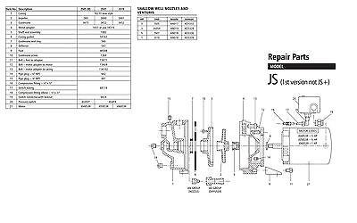 js07 goulds jet pump repair rebuild kit fix your pump now 3 wire spa wiring diagram goulds jet pump wiring diagram #15
