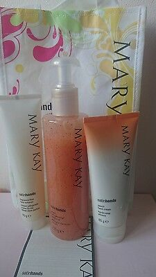 Satin Hands Mary Kay Pampering Set of 3 products - Perfect as a Gift New