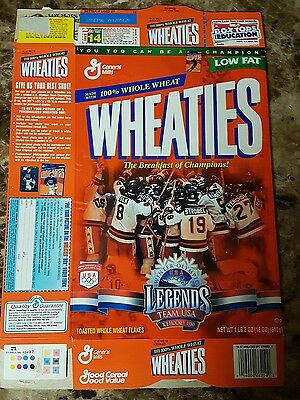 sports stars wheaties cereal boxes