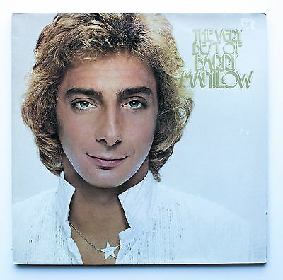THE VERY BEST OF BARRY MANILOW - VINYL 2x LP RECORD - UK 1980 TELLY1 EX+/EX