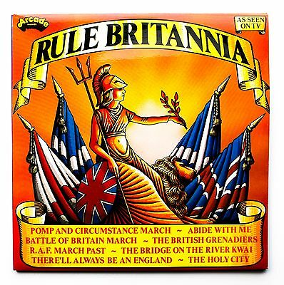 RULE BRITANNIA - VARIOUS - VINYL 2x LP RECORD - ADEP29 UK 1977 ARCADE - EX+/NM-
