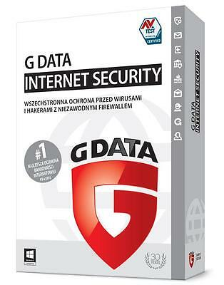 G Data Internet Security (Multilanguage) 1 Pc / 1 Year (Gdata) No Cd - Only Key