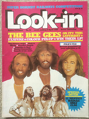 Look In Magazine 5 Apr 1980 #15 The Bee Gees