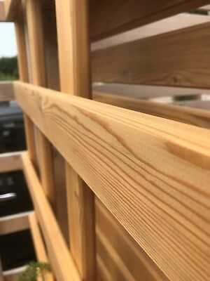 siberian larch slats planed all round  22  x 70 x 4000 mm
