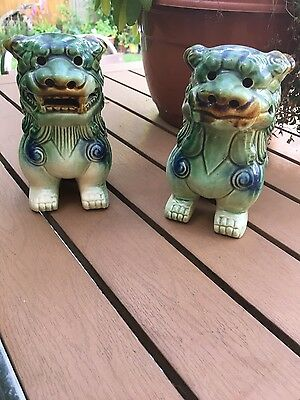 pair of chinese dragons