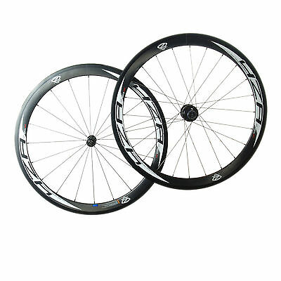 Forza Cirrus Pro C50 Clincher Carbon Wheelset 10 Speed Shimano Fit
